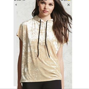 Velvet Hooded Shirt 😍